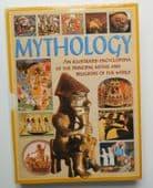Mythology illustrated encyclopedia of myths and religion Hardback reference book